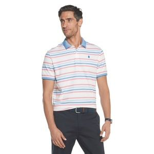 IZOD MENS STRIPED GOLFING SHIRT